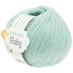 Lana Grossa COOL WOOL Baby 25g | 257-ljus turkos